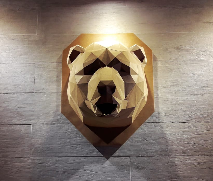 Urso de Papel 1