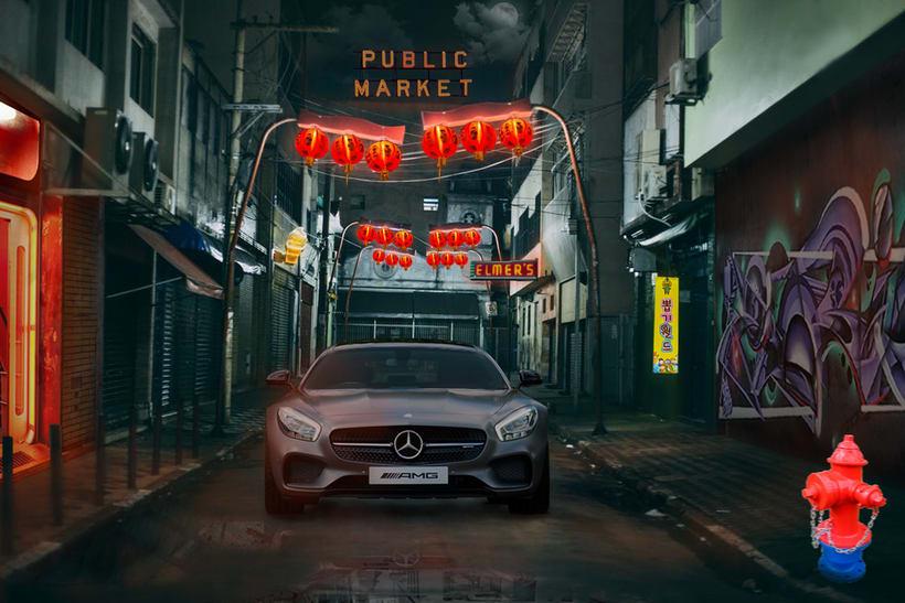 Mi Proyecto del curso: Secretos del fotomontaje y el retoque creativo - Chinese Alley 7