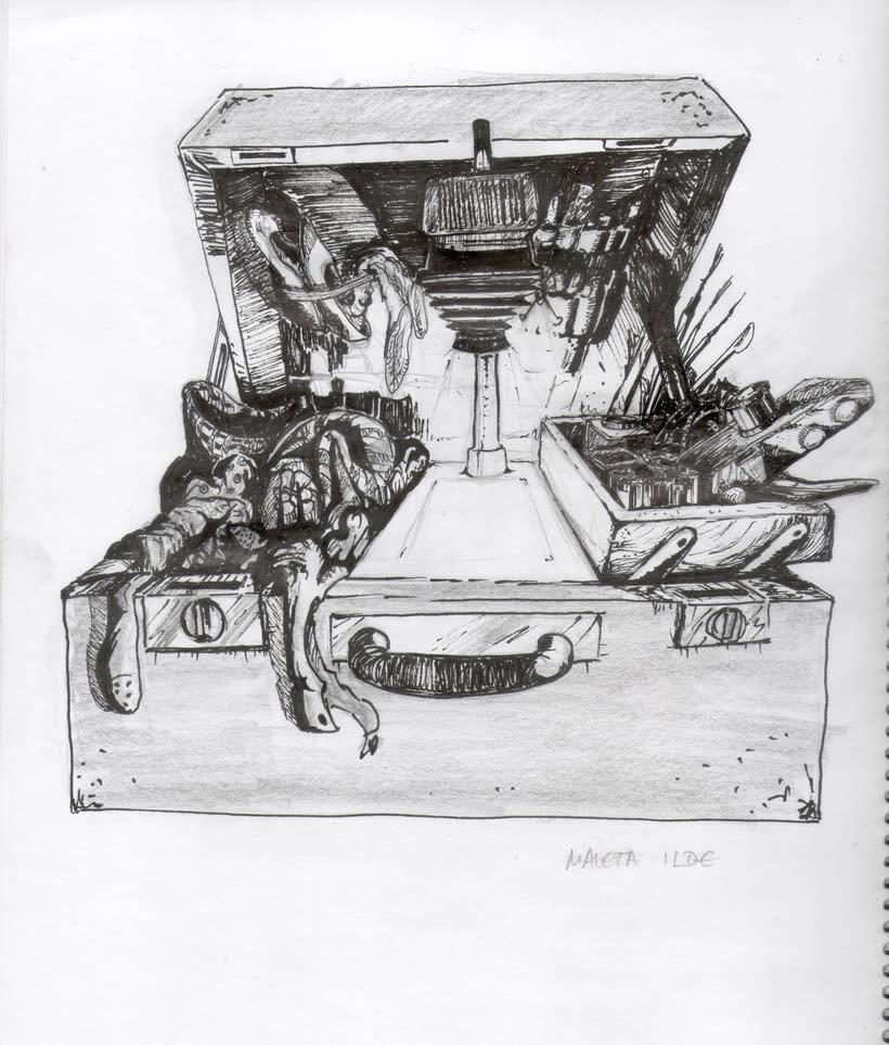 diseño de conceptos y bocetos para el videojuego nubla 2 en educathyssen  4