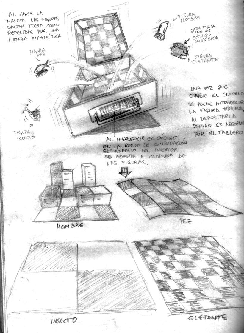 diseño de conceptos y bocetos para el videojuego nubla 2 en educathyssen  10