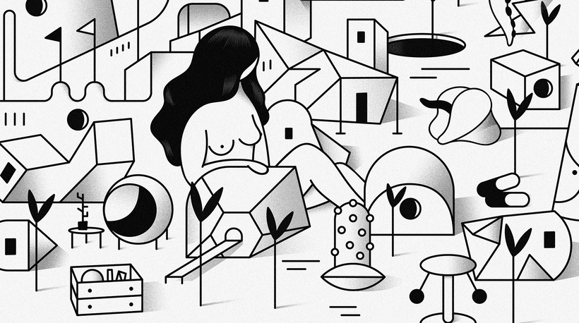 """""""Last Frontier"""" ilustración extraída de la colección """"Otros Mundos"""" ©Hugo Giner 2018. 1"""