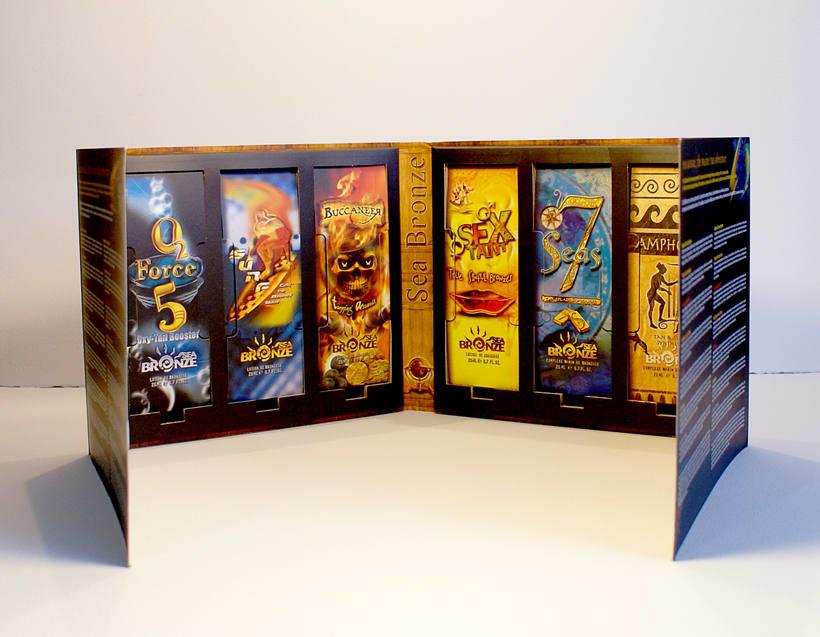 Sea Bronze.  Packaging 10
