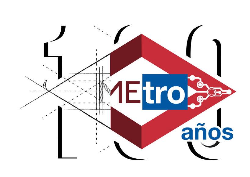 Mi propuesta para el Logo de Metro de Madrid del centenario -1