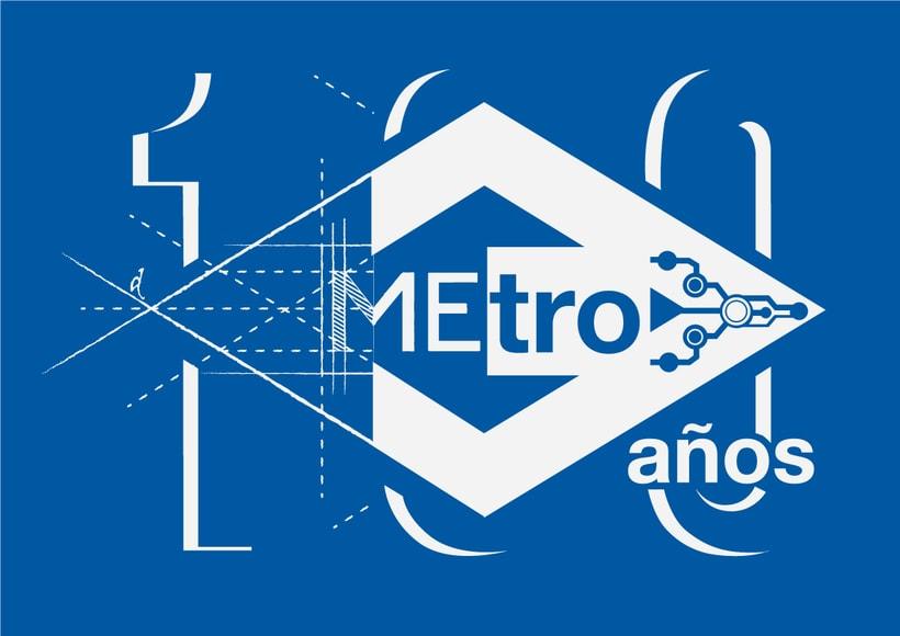 Mi propuesta para el Logo de Metro de Madrid del centenario 0