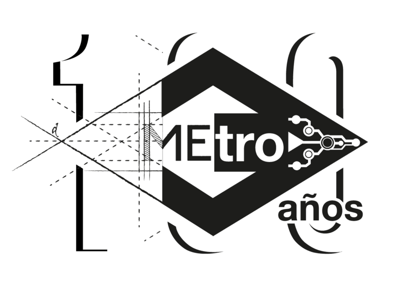 Mi propuesta para el Logo de Metro de Madrid del centenario 1