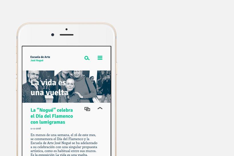 App Escuela Arte Jaén 5
