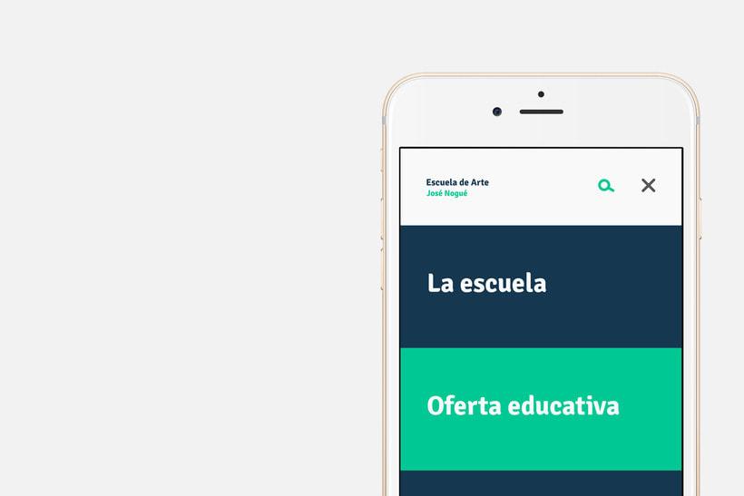 App Escuela Arte Jaén 6