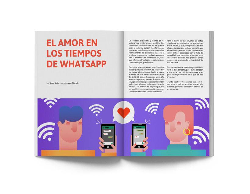 El amor en los tiempos de WhatsApp 5