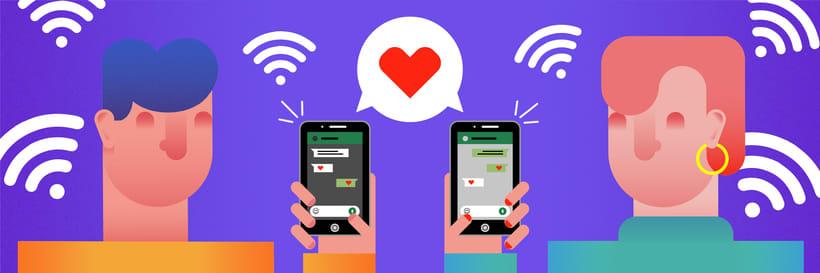 El amor en los tiempos de WhatsApp 1