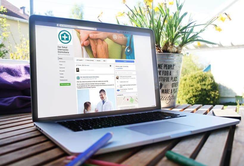 Diseño de redes sociales. Dar Salud -1