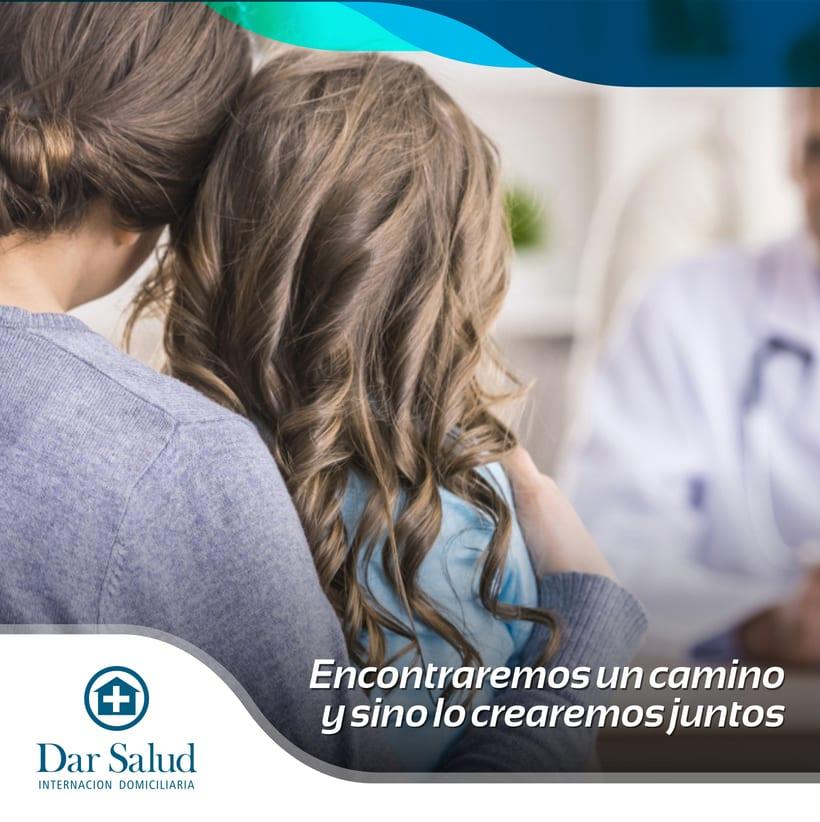 Diseño de redes sociales. Dar Salud 3