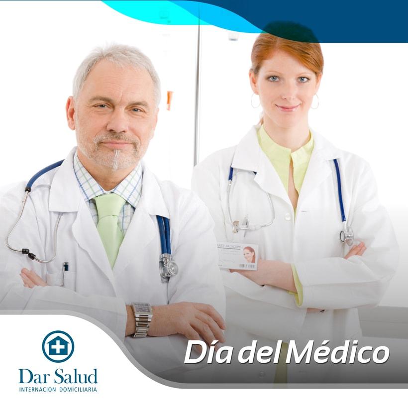 Diseño de redes sociales. Dar Salud 6