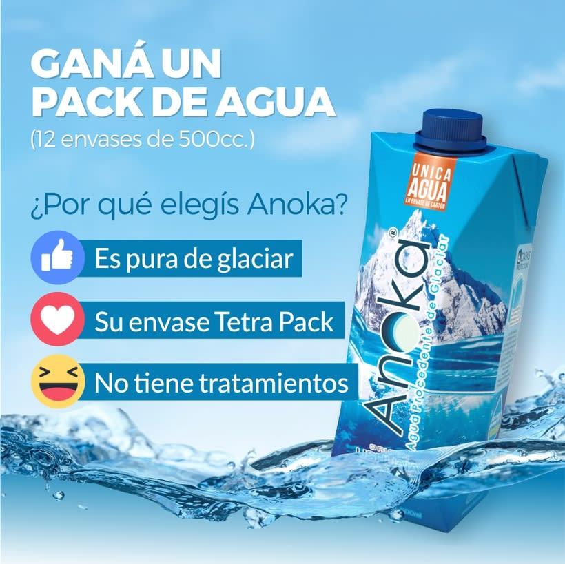 Diseño de redes sociales. Agua Anoka 11