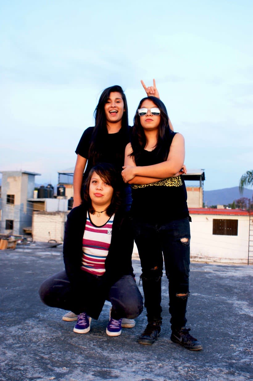 Photoshoot a banda de rock 18