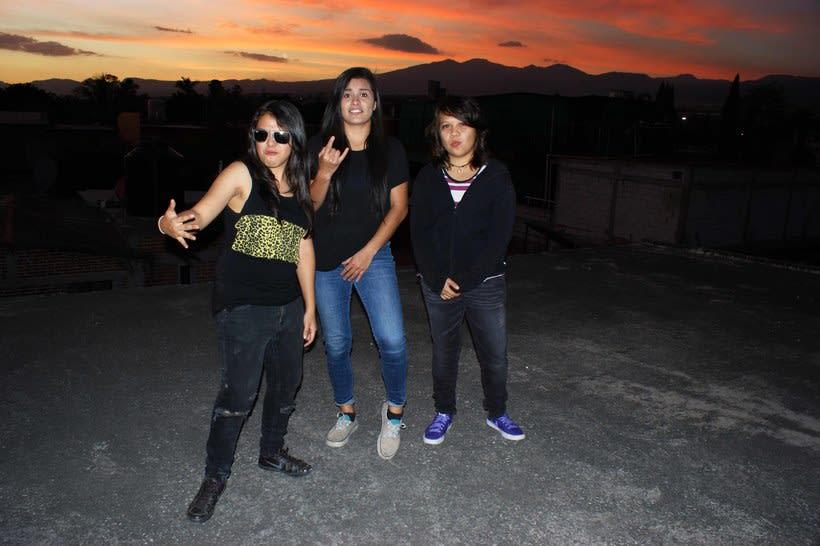 Photoshoot a banda de rock 21