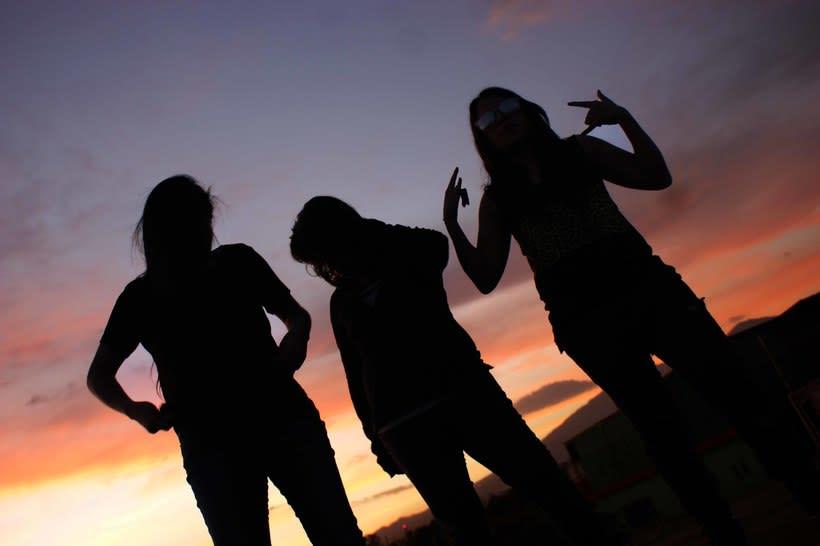 Photoshoot a banda de rock 22