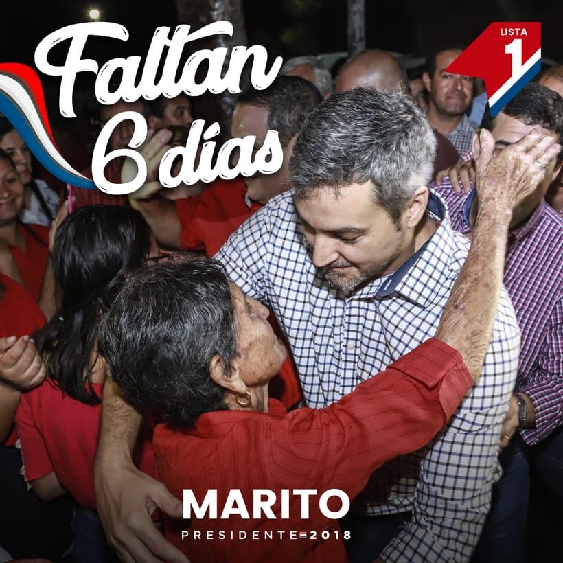 Campaña de Mario Abdo (Candidato a Presidente) 3