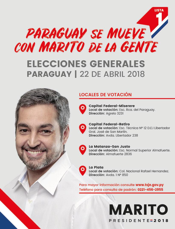 Campaña de Mario Abdo (Candidato a Presidente) 7