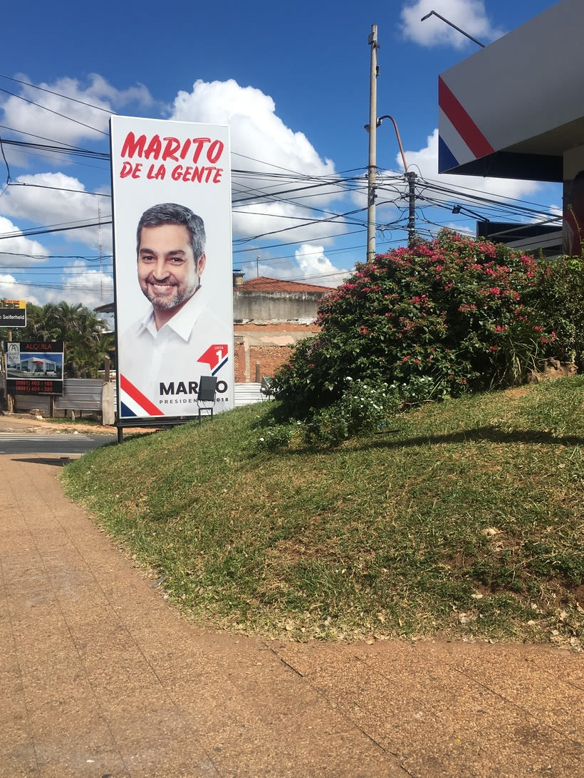 Campaña de Mario Abdo (Candidato a Presidente) 20