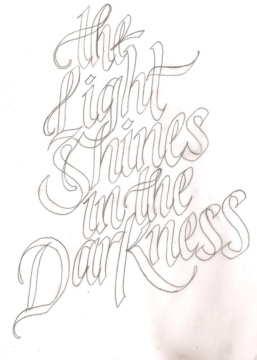 Mi Proyecto del curso: Caligrafía y lettering para manos inquietas 0