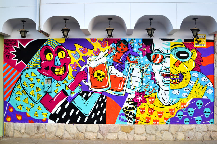 Mural Magestic Bar 1