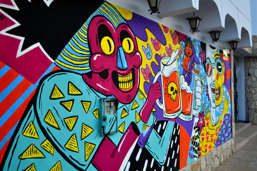 Mural Magestic Bar 2