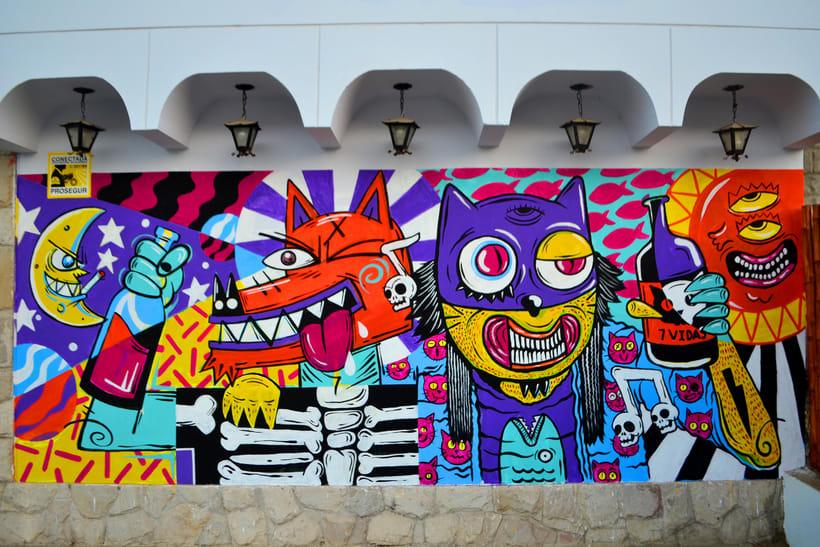 Mural Magestic Bar 5