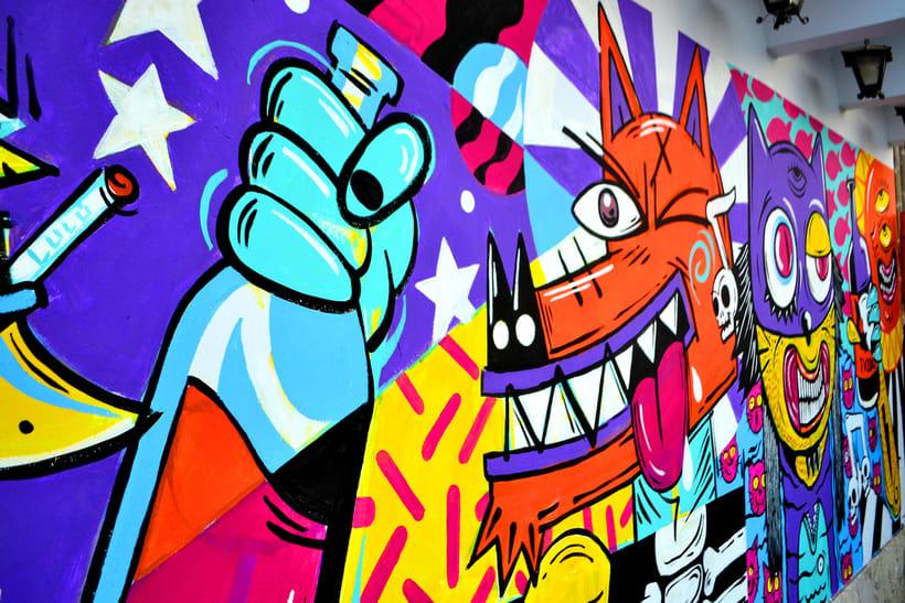 Mural Magestic Bar 6