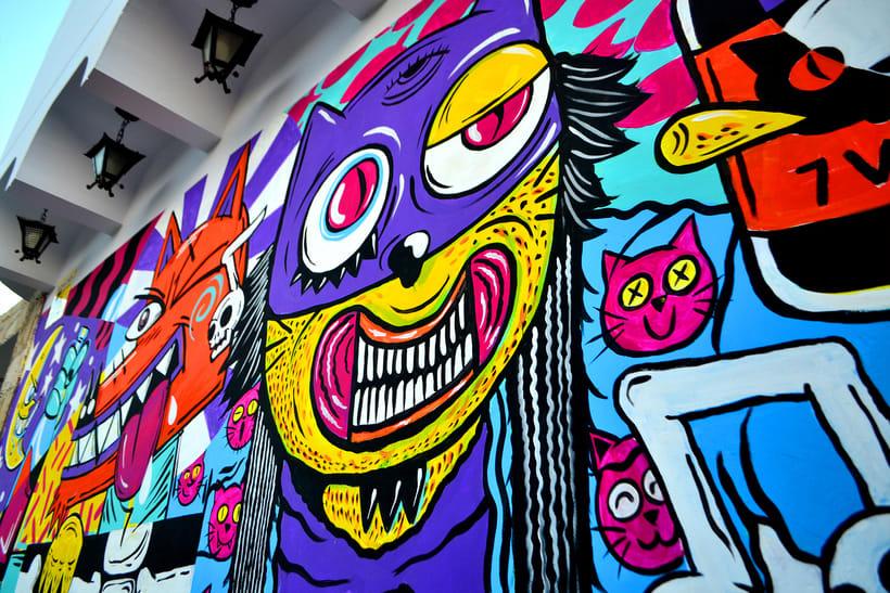 Mural Magestic Bar 8