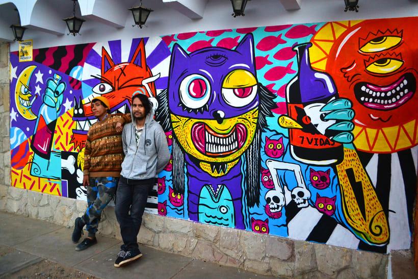 Mural Magestic Bar 9