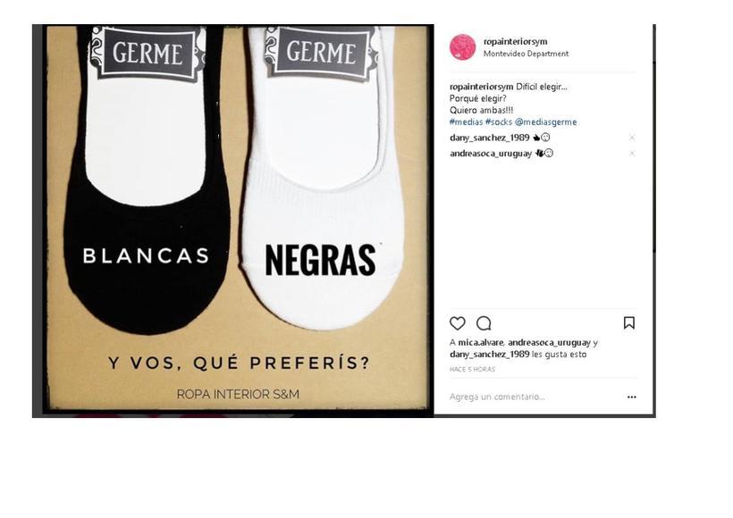 Mi Proyecto del curso: Instagram para marca de Ropa Interior S&M 1