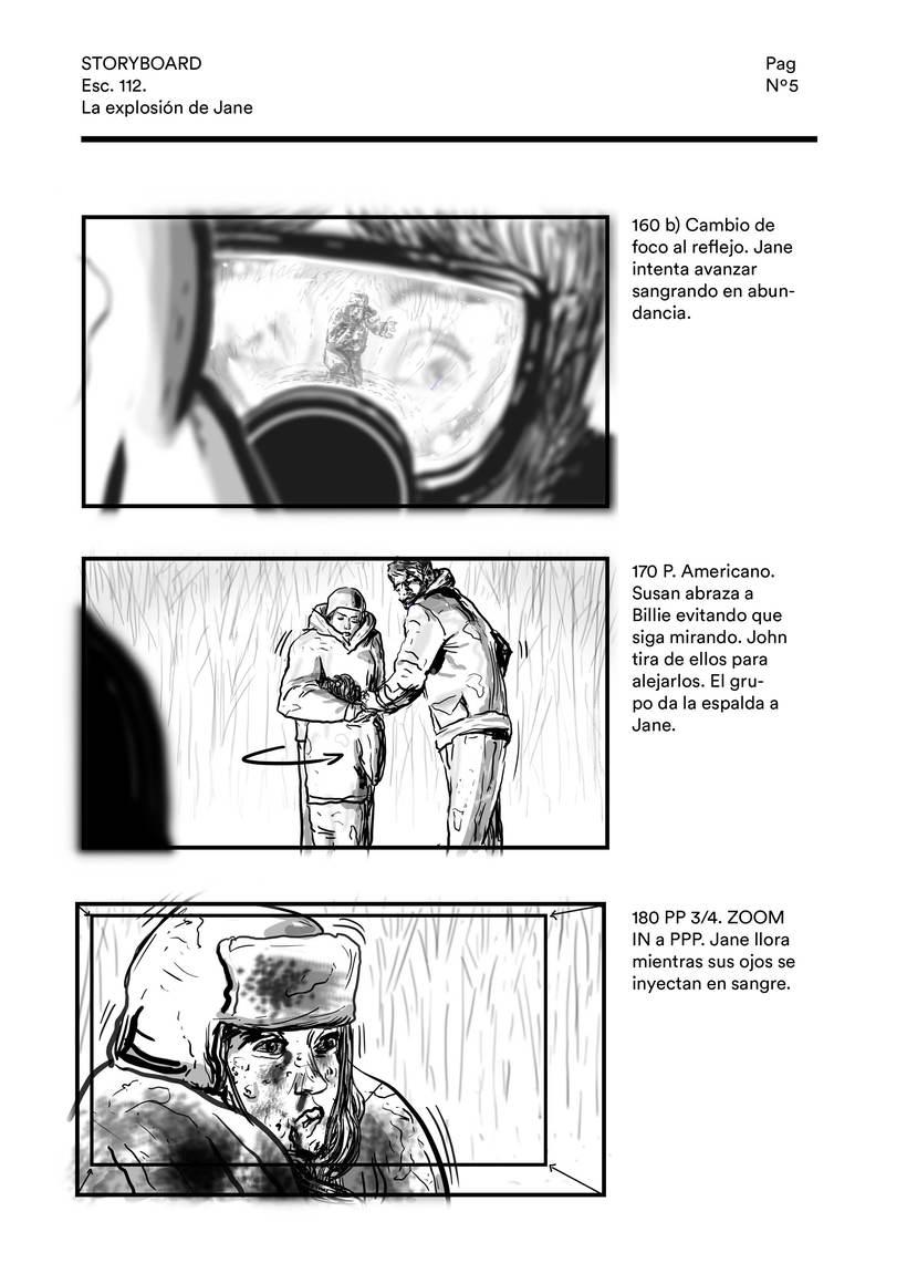 La explosión de Jane (storyboard) 4