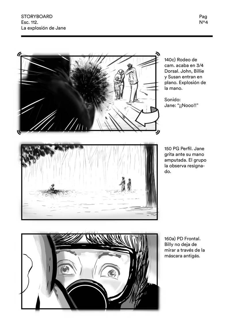 La explosión de Jane (storyboard) 3