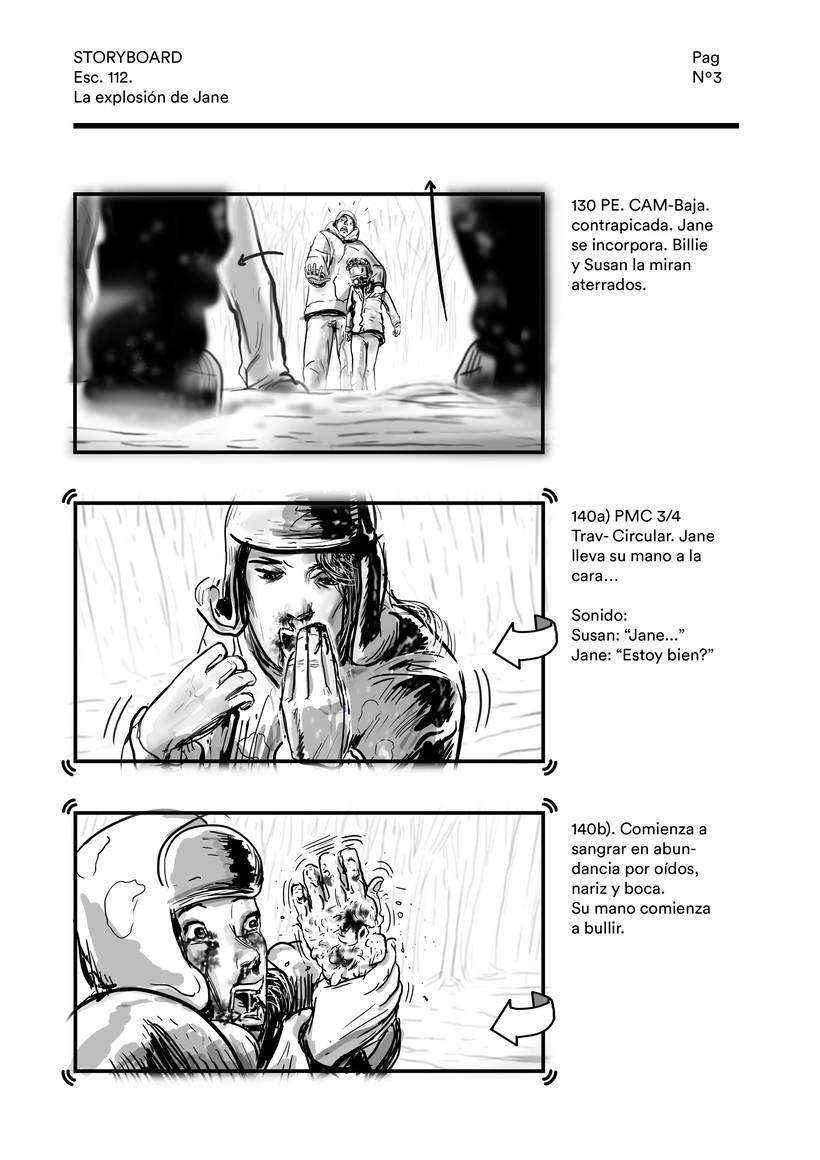 La explosión de Jane (storyboard) 2