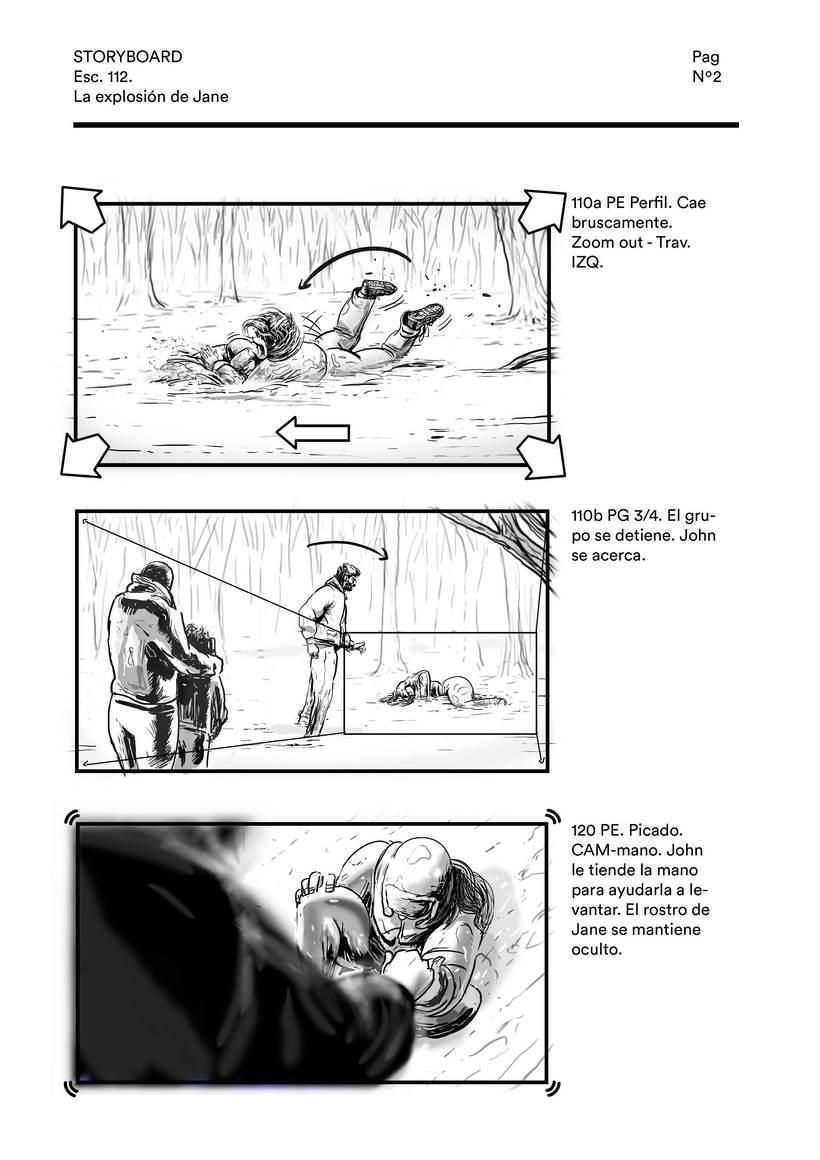 La explosión de Jane (storyboard) 1