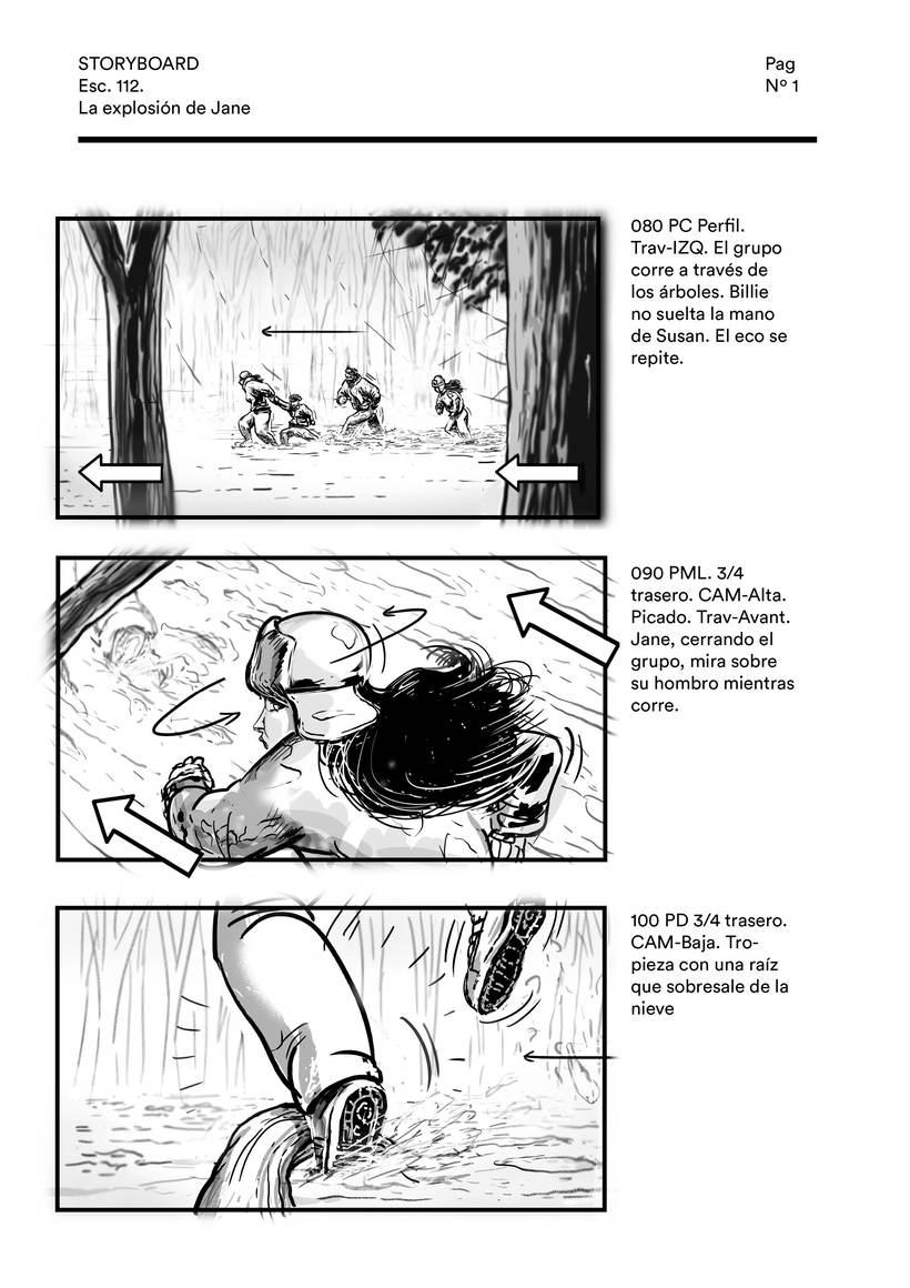 La explosión de Jane (storyboard) 0