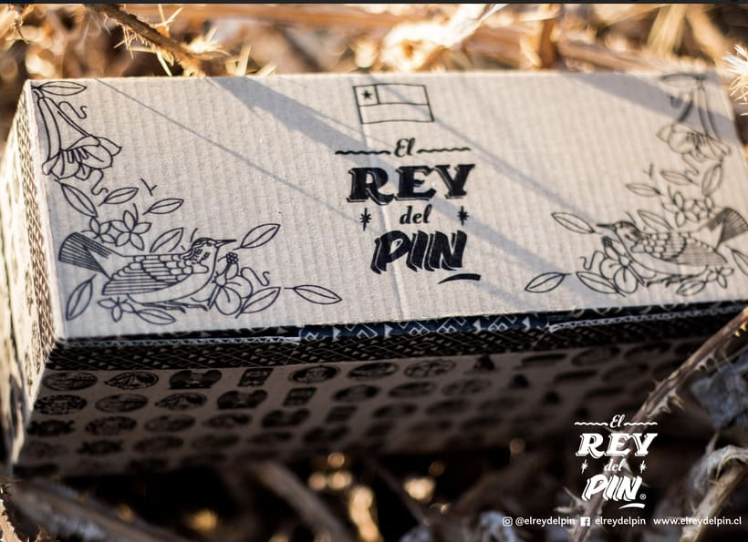 El Rey del Pin. Pins de madera nativa 100% Chilenas 0