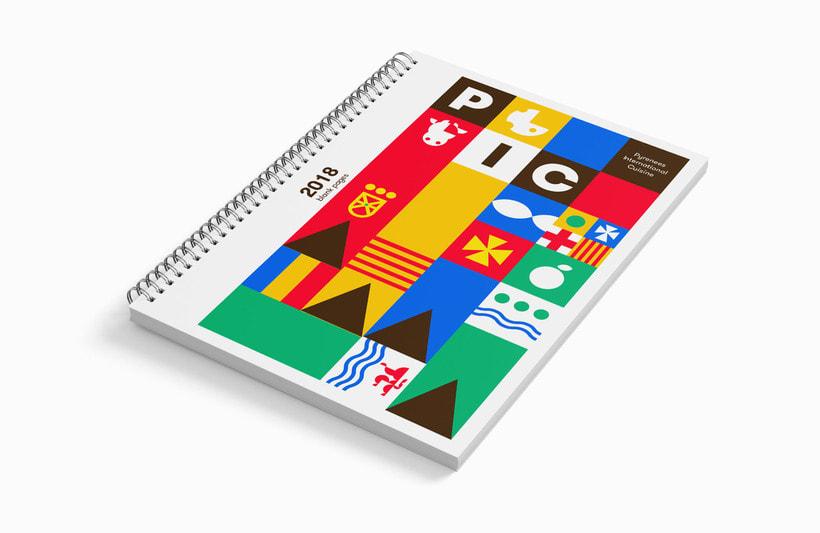 PIC festival system identity 1