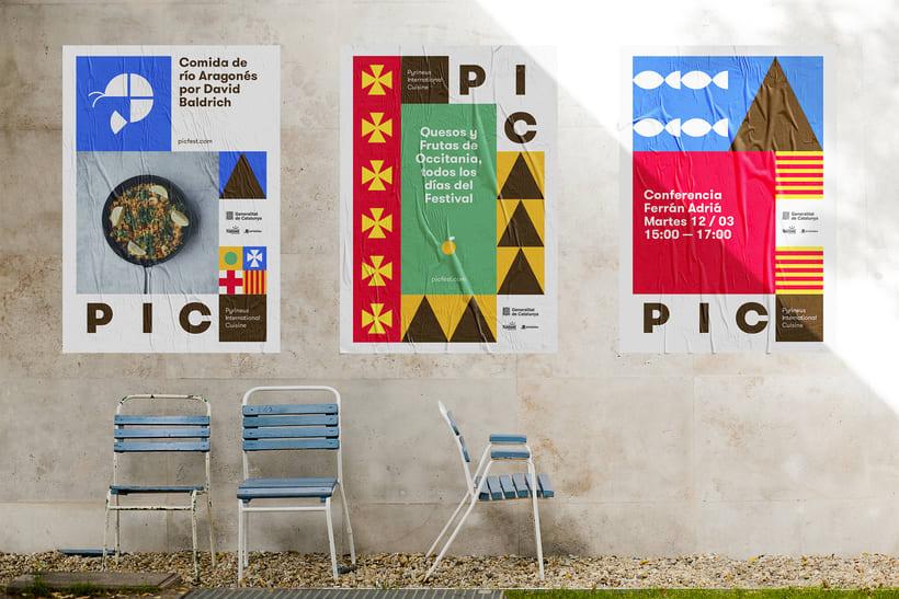 PIC festival system identity 2