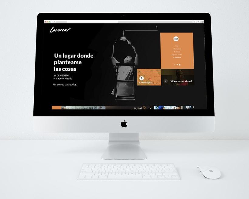 Diseño UI Conocear, Proyecto personal 0