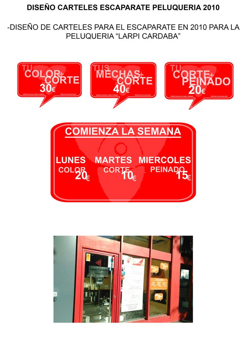 CARTELES PELUQUERIA 2010 -1