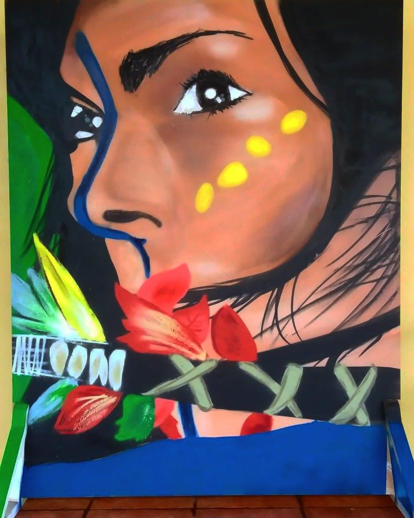 Mi Proyecto del curso: Iniciación a la pintura con spray 0