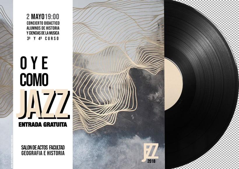 Cartelería Concierto de Jazz 0