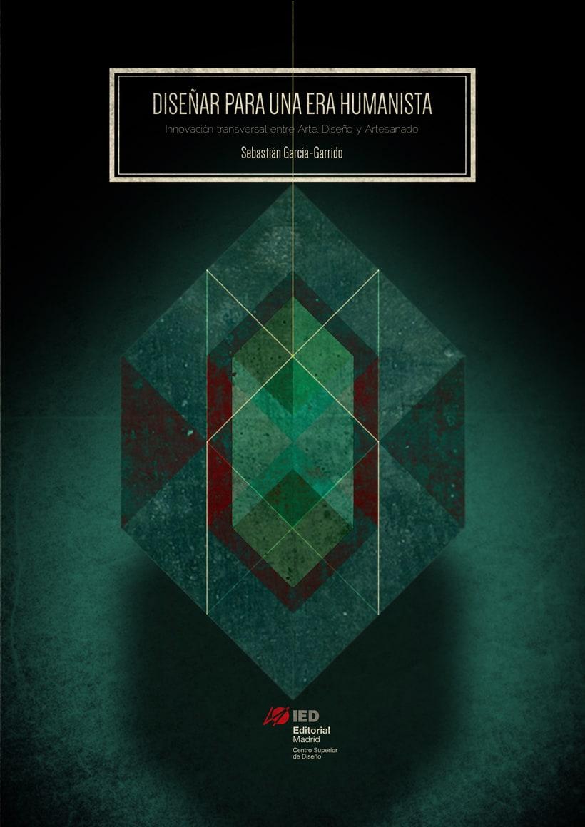 Diseño de portada de libro _Diseñar una era humanista 0