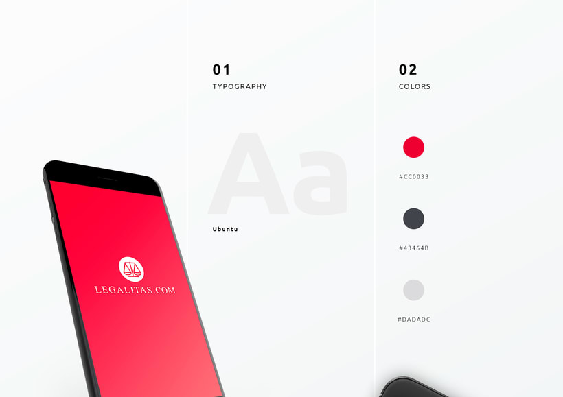 UI / UX App Legal 1