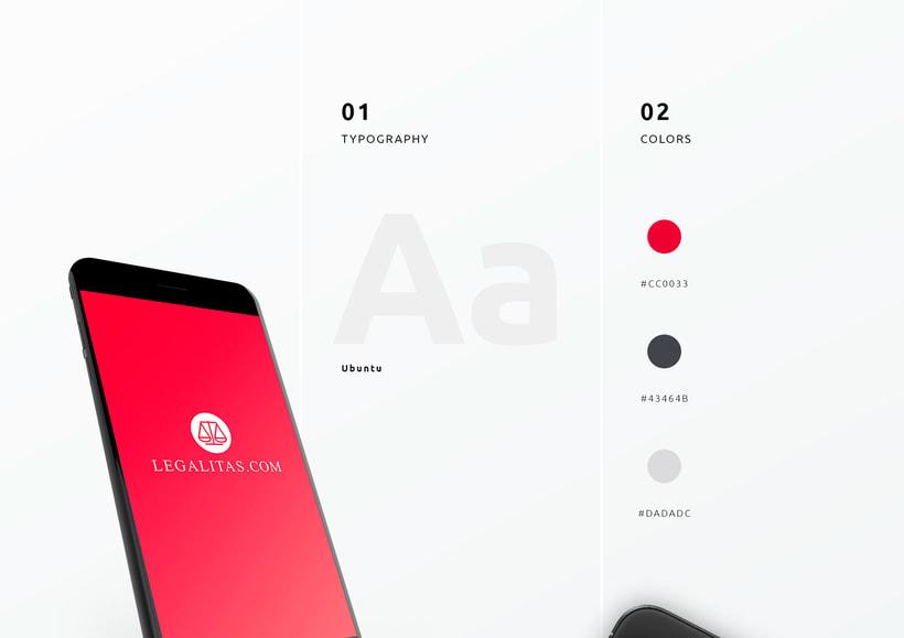 UI / UX App Legal 1
