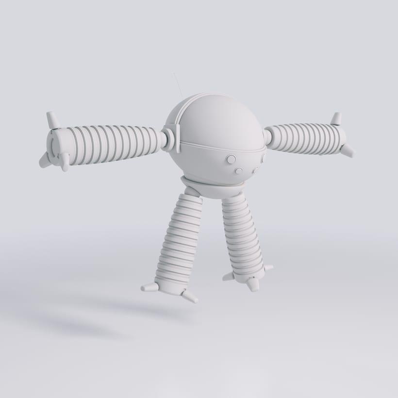 Robot Explorador 3