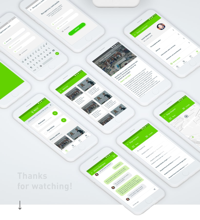 UX / UI App contra el cáncer 8