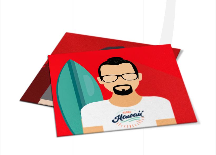 Ilustración avatares equipo 4