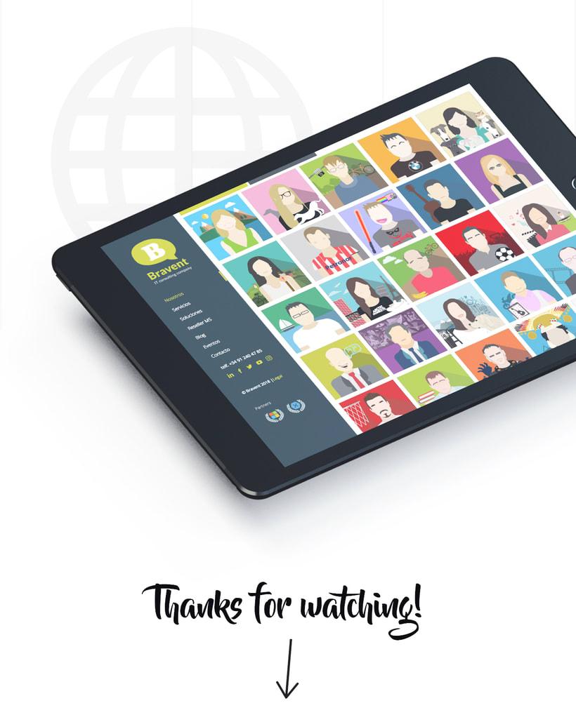 Ilustración avatares equipo 6